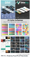 Graphicriver 2 In 1 Business PowerPoint Presentation Bundle