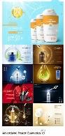 تصاویر وکتور پوسترهای تبلیغاتی لوازم آرایشیAdvertising Poster Concept Cosmetics Vector 19