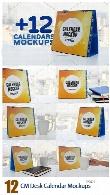 CM Desk Calendar Mockups