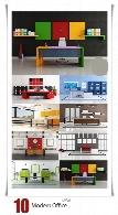 تصاویر با کیفیت طراحی داخلی دفتر کار مدرنModern Office
