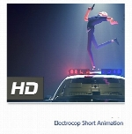 انیمیشن کوتاهElectrocop Short Animation