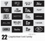 Graphicriver Bundle All My Font 22 Font Family