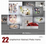 Graphicriver Abstract Photo Frame Bundle