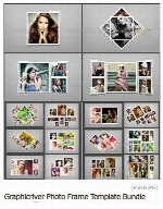 Graphicriver Photo Frame Template Bundle