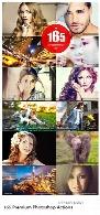 165 اکشن فتوشاپ با افکت های متنوع165 Premium Photoshop Actions