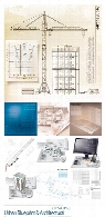 Urban Blueprint And Architectural Backgrounds