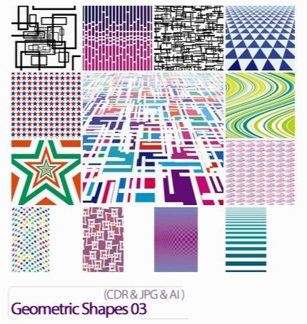 تصاویر کورل اشکال هندسی / Geometric Shapes 03