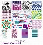 تصاویر کورل اشکال هندسیGeometric Shapes 03