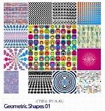 تصاویر کورل اشکال هندسیGeometric Shapes 01