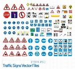 Traffic Signs Vector Files