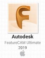 Autodesk FeatureCAM Ultimate v2019 x64 ISO