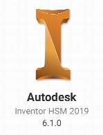 Autodesk Inventor HSM 2019 Build 6.1.0.15056