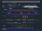 پلان ایستگاه راه آهن شهری برای اتوکدPlan Service Plans