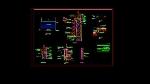 جزئیات پست برق برای اتوکدIndustrial Plans