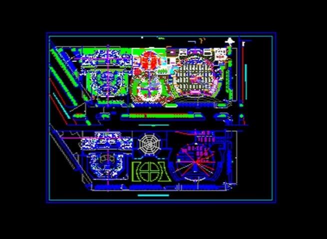 پلان تجاری،اداری،تفریحی برای اتوکد / Commercial Building Plan