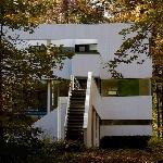 پلان معماری خانه هنسلمن، اثر مایکل گریوز + بررسی این ساختمان برای اتوکدVilla plan