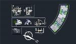 پلان ویلا، معماری ارگانیک برای اتوکدVilla plan