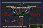 نمونه جزئیات اجرایی پارکینگ DWG