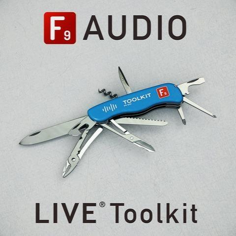 بانک صدای ابلتون لایو / F9 Audio F9 Toolkit for Ableton Live 9+10 Deluxe Edition