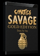 درام کیت ترپCymatics Savage Drums For Trap Gold Edition