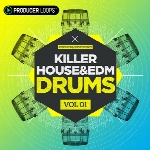 لوپ و سمپل درامProducer Loops Killer House and EDM Drums Vol 2 MULTiFORMAT