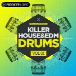 لوپ و سمپل درامProducer Loops Killer House and EDM Drums Vol 1 MULTiFORMAT