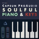 لوپCAPSUN ProAudio Soulful Piano and Keys WAV-MIDI