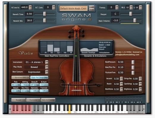 وی اس تی ویولن / SWAM engine SWAM Violin v1.2.0