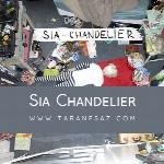 پروژه لایه باز موزیک ازChandelier Sia