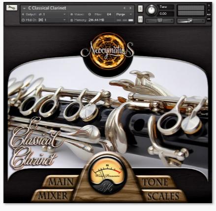 وی اس تی کلارینت / Neocymatics The Clarinet Collection KONTAKT