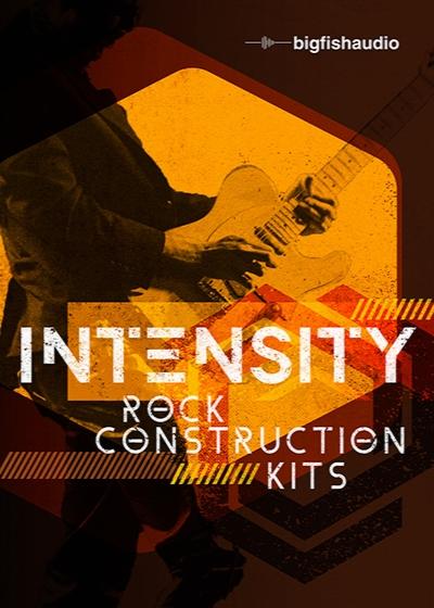 Big Fish Audio Intensity Rock Construction Kits MULTiFORMAT