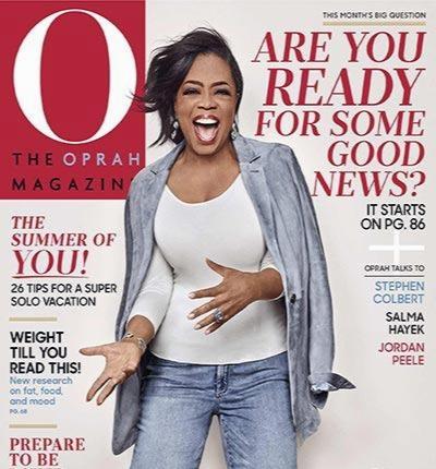 O The Oprah Magazine - June 2018