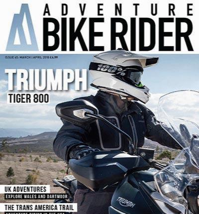 Adventure Bike Rider - March April 2018