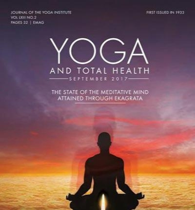 Yoga and Total Health September 2017