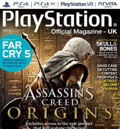 PlayStation Official Magazine Issue 139 September 2017