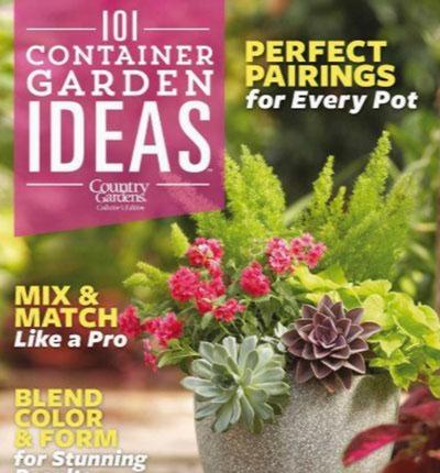 Country Gardens - 101 Container Gardens 2016