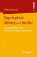حافظه سازمانی به عنوان یک تابع: ساخت گذشته، حال و آینده را در سازمان هاOrganisational Memory as a Function: The Construction of Past, Present and Future in Organisations