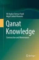 دانش قنات: ساخت و ساز و تعمیر و نگهداریQanat Knowledge: Construction and Maintenance