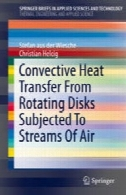 انتقال حرارت همرفتی از دیسک گردان در معرض جریان هواConvective Heat Transfer From Rotating Disks Subjected To Streams Of Air