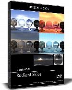 مجموعه HDRI آسمان درخشان از DOSCH DESIGNDosch HDRI Radiant Skies