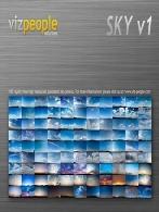 مجموعه Viz-People Sky تصویر پانورمای آسمانVizPeople Skies vol.1