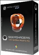 پلاگین بی نظیر سیجرشیدر نسخه 4.1.6SIGERSHADERS V-Ray Material Presets Pro v4.1.6 for 3dsMax 2013-2017