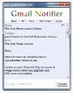 Gmail notifier 2.1.7