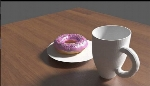 Cup With Donut