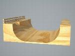 Halfpipe Skate Ramp