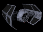 Lord Vader Starwars X1 Tie-Fighter