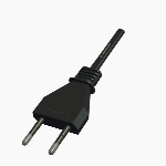 CEE 7 16 Male Plug V3