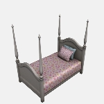 Four Poster Bed Double