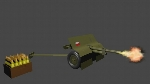 Polish Low Poly Artillery (37mm)