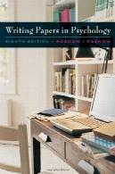 سفارشی غنی سازی ماژول: نوشتن مقالات در روانشناسی (با InfoTrac چاپ کارت دسترسی)Custom Enrichment Module: Writing Papers in Psychology (with InfoTrac Printed Access Card)